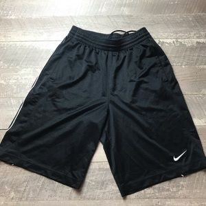 Nike Athletic Shorts mens Black Size Small